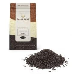 Chokolade krymmel mørk 1kg - Callebaut