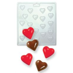 Chokoladeform Mini Hjerter - PME