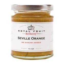 Orange marmelade uden tilsat sukker 215g - Belberry