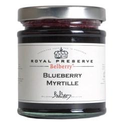 Blåbærmarmelade ekstra 215g - Belberry