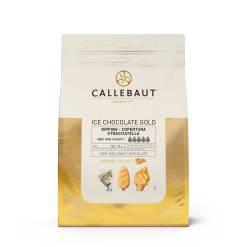 Gold Chokolade til Is overtræk 2,5 kg - Callebaut