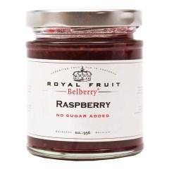 Hindbærmarmelade uden tilsat sukker 215g - Belberry