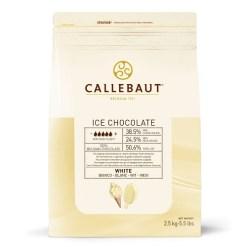 Hvid Chokolade til Is overtræk 2,5 kg - Callebaut