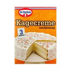 Kagecreme - Dr. Oetker