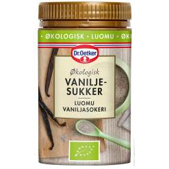 Økologisk Vaniljesukker - Dr. Oetker