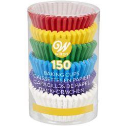 Rainbow mini muffinsforme 150 stk. - Wilton