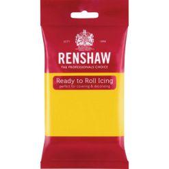 Renshaw Rullet Fondant Pro - Gul, 250g