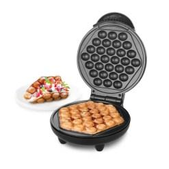 Emerio Bubble Waffle Jern Sort