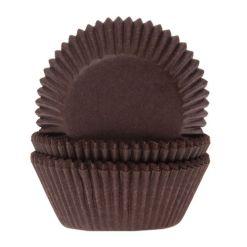 Mini muffinsforme brun 60 stk. - House of Marie