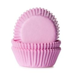 Mini muffinsforme lyserød 60 stk. - House of Marie