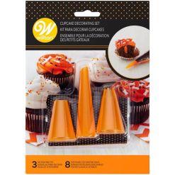 Halloween Cup Cake Dekoration Startsæt , 11 dele