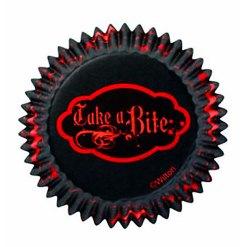 Halloween muffinsforme 75 stk. Vampire - Wilton