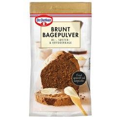 Brunt Bagepulver - Dr. Oetker