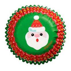 Jul mini muffinsforme Julemand 100 stk. - Wilton