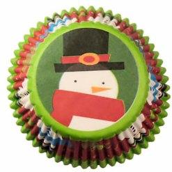 Jul muffinsforme Snemand 75 stk. - Wilton