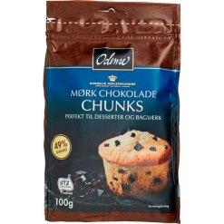 Odense Chokolade Chunks 100 g