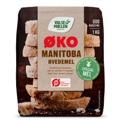 Økologisk Manitoba hvedemel 1 kg - Valsemøllen