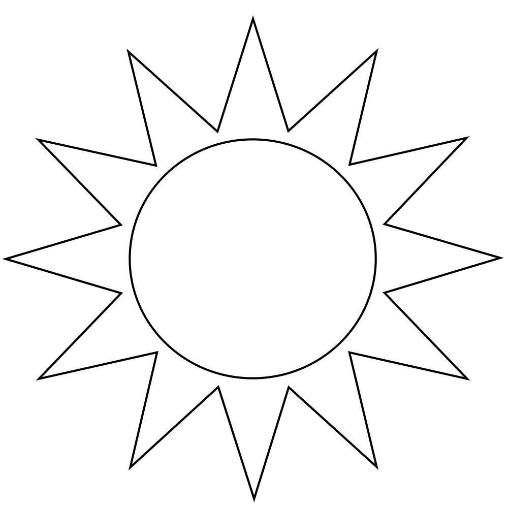 Güneş şablonları Projedenizi