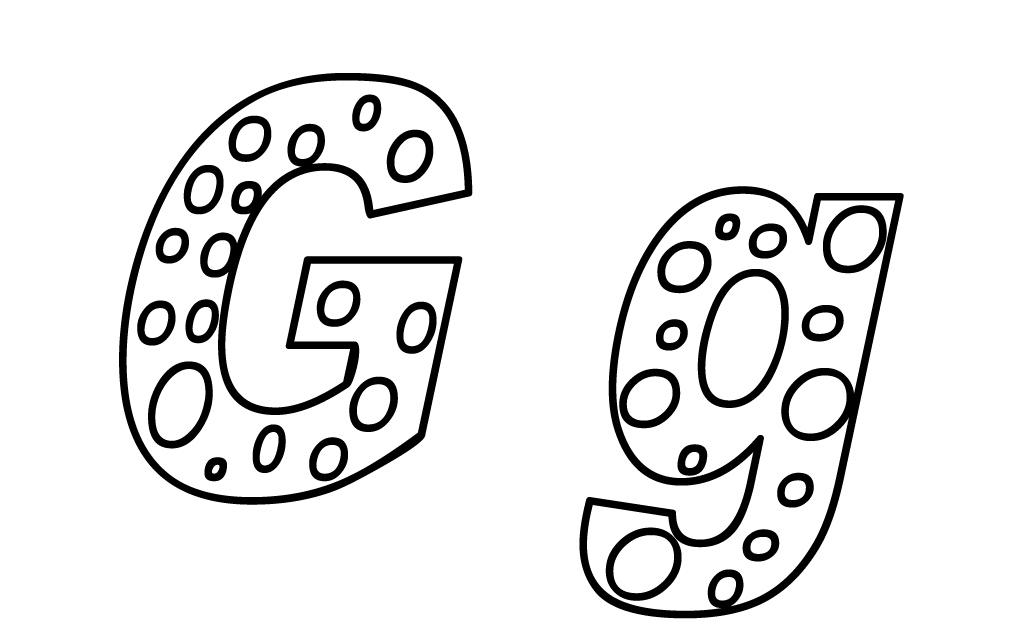 puantiyeli harfler
