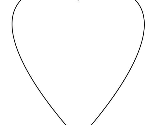 Sekiller Kalp Sablonlari Projedenizi