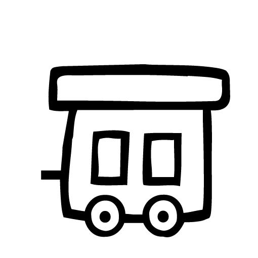 Tren Vagonu Boyama Ust Ev Boyama Sayfasi