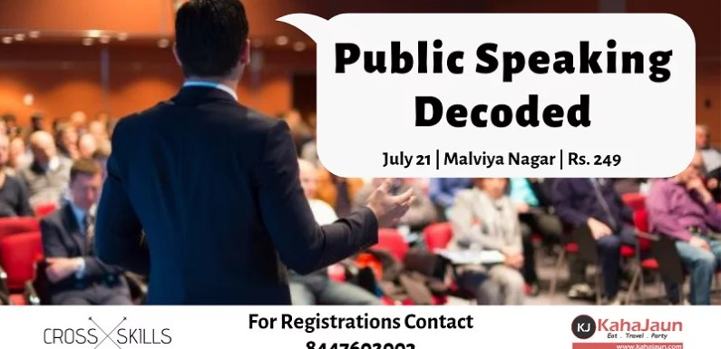 Public Speaking Decoded