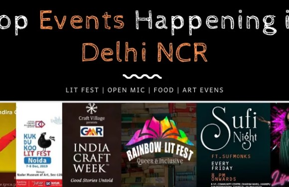 Top Events Happening in Delhi NCR this Weekend from 6 to 8 Dec
