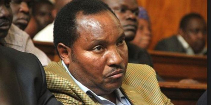 Image result for Images of Waititu before the senate