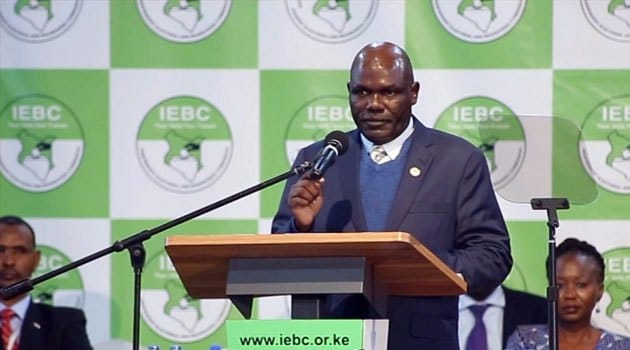 Image result for Imran OKOth and odm with IEBC