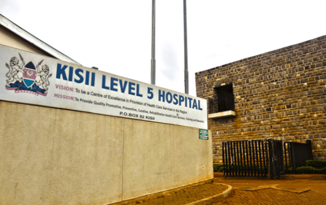 baby yanis, kisii referral hospital