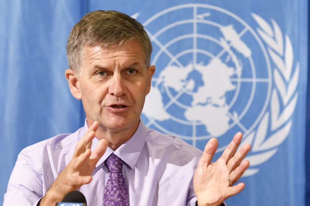 Globetrotting UN climate chief Erik Solheim claimed $500k in travel expenses