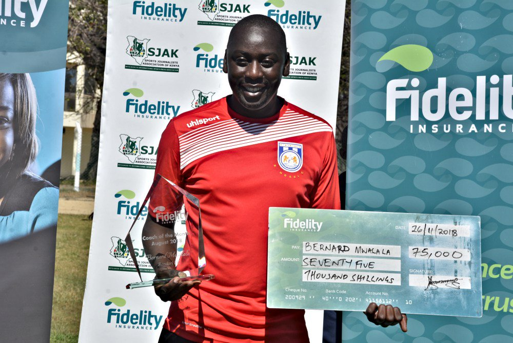 Image result for coach of the month bernard mwalala kenya