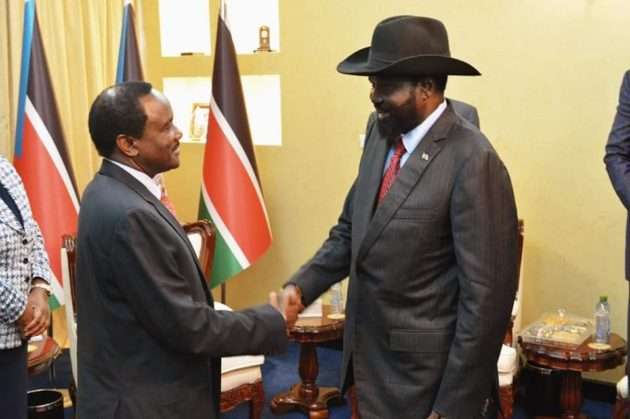 Image result for Kalonzo's appointment to IGAD pictures