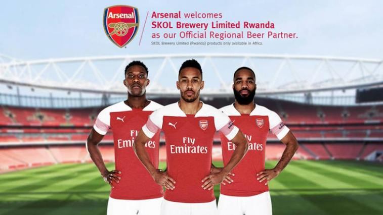 arsenal partner SKOL