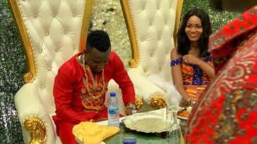 florence dadson weds david accam