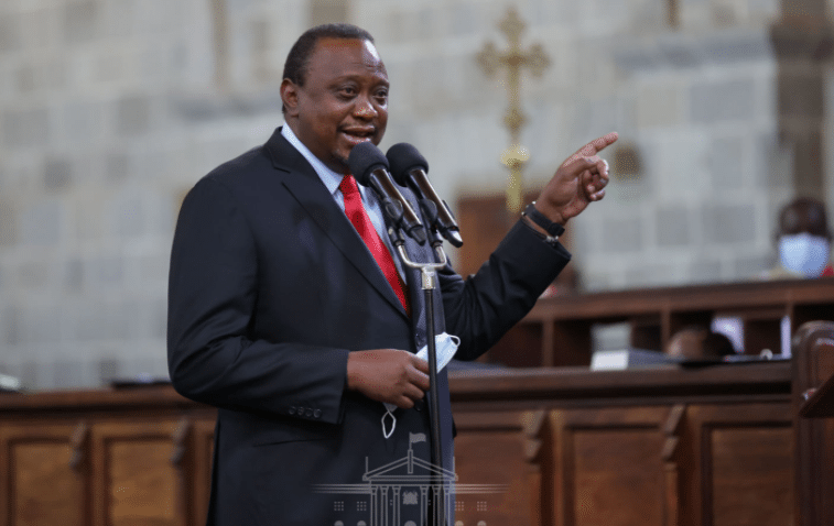 President Kenyatta Hints At A Lockdown As Covid-19 Infections Soar -