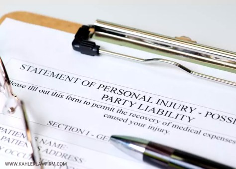 personal injury claims in Ontario