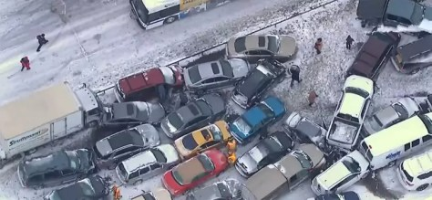 Personal Injury Claims Stemming From a Multi-Vehicle Pile-Up