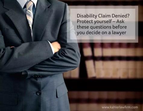 disability lawyer Toronto