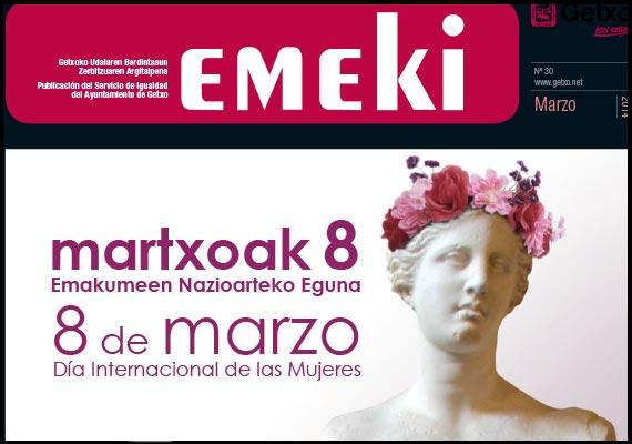 Revista EMEKI – Área de Igualdad del Ayuntamiento de Getxo