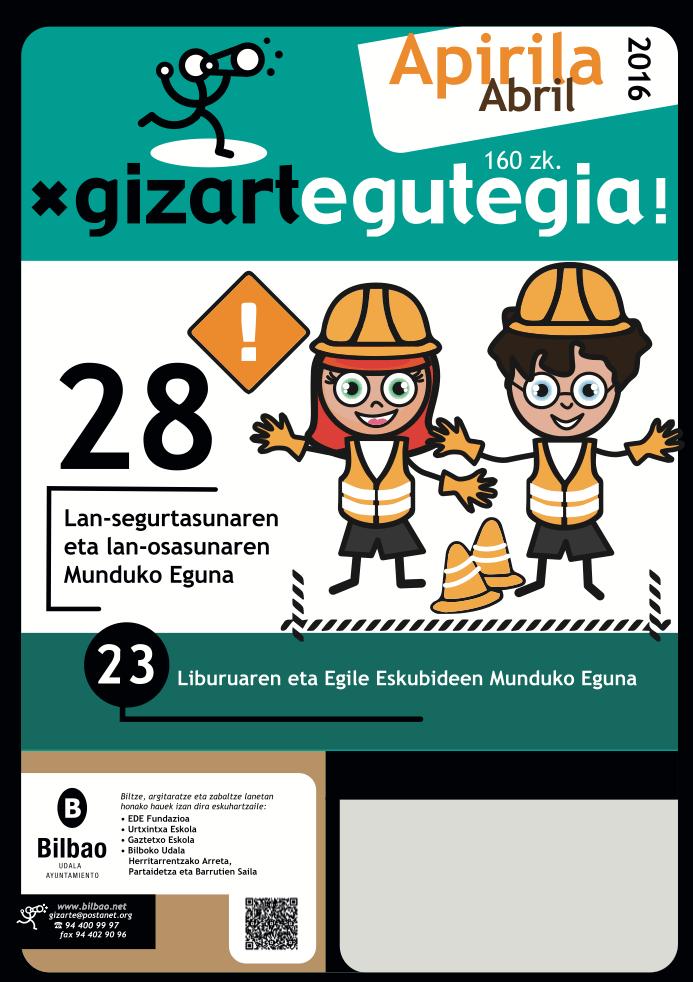 Gizarte egutegia – calendario social del Ayto. de Bilbao