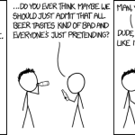 xkcd on Beer