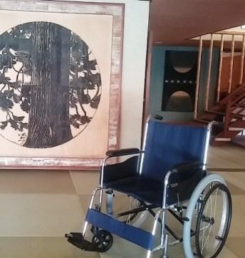 車椅子 海潮園