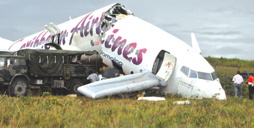 No Fatalities As Caribbean Airlines Craft Crashes In