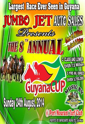 Jumbo Jet Annual Guyana Cup Horserace meet promises ...