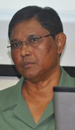 GFC Commissioner James Singh