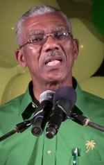Opposition Leader, David Granger