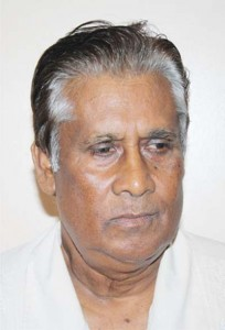 Businessman Jacob Rambarran