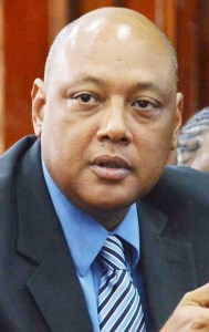 Minister of Governance, Raphael Trotman