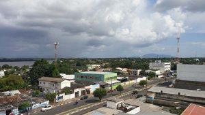 The skyline of Boa Vista city